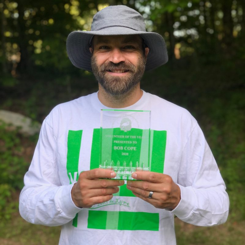 Lyme Land Trust Annual Meeting 2020 and Volunteer of the Year