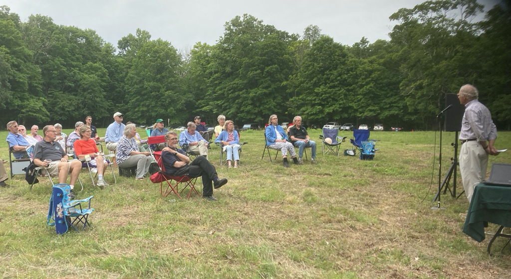 Annual Meeting in Clucas Field, June 18, 2021. Photo by Mary Guitar.